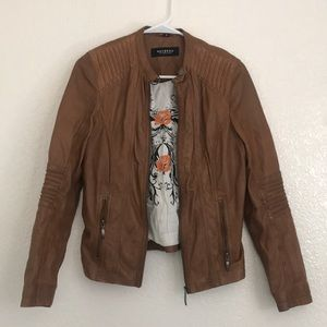 Buttery soft leather jacket